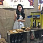 The beautiful Dana with her argan oil